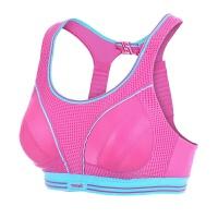 大码高强度防震运动文胸背心式大胸运动内衣女跑步胖mm200斤
