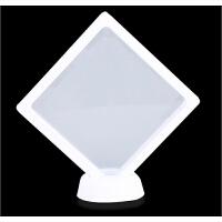 蝴蝶标本相框 亚克力透明盒 蝴蝶昆虫标本盒 悬浮相框 珠宝展示架 展示框 其他正方形尺寸 独立