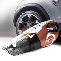 车载充气吸尘四合一 12v车用大功率干湿两用汽车吸尘器 充气泵