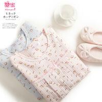 梦蜜 小猴款 春秋季月子服 加厚空气棉哺乳衣 冬季孕妇喂奶睡衣