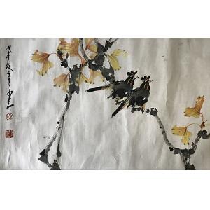赵少昂(花鸟)广州市立美术学校中国画系主任、广州大学美术科教授