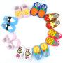 小溜宝  0-1岁婴儿鞋咖啡奶牛防滑学步鞋定做宝宝学步鞋不掉鞋