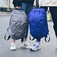 韩版潮流双肩包嘻哈大容量中大学生书包青少年旅行背包时尚电脑包