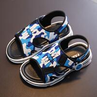 男童凉鞋新款韩版儿童沙滩鞋夏季中大童舒适软底男孩休闲学生童鞋