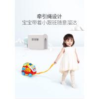 澳贝电子汽车电话宝宝儿童电话玩具0-3岁仿真电话机英语数字学习