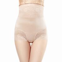 收腹内裤透气产后塑形束腰瘦肚子高腰提臀塑身裤透气蕾丝