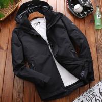 户外夹克男士冲锋衣两件套加厚保暖防风防水运动外套男新款 L 适合60公斤左右