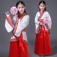 六一儿童节演出服汉服女国学表演服装中国风小书童仙女服装男女童
