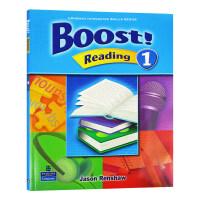 培生朗文中学英语教材 阅读分级强化训练1 Boost Reading L1级 英文原版 阅读练习技能培训学生用书 小学中