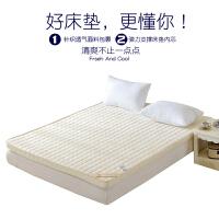 床垫1.8m记忆棉榻榻米1.5米加厚1.2米学生宿舍席梦思海绵垫子定制 宝石蓝 10cm