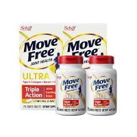 【网易考拉】【白瓶新包装 修复软骨关节柔韧】Schiff Move Free维骨力软骨精华素骨胶原 白瓶 75粒/瓶