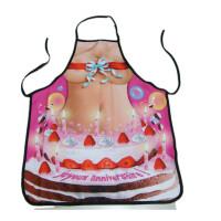 欧美原单搞笑搞怪恶搞/情趣/性感/情侣/创意立体印花厨房围裙