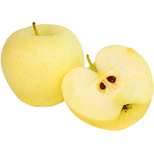 【山东特产】烟台苹果金帅 黄元帅香蕉果粉苹果面苹果奶油红富士80# 5斤
