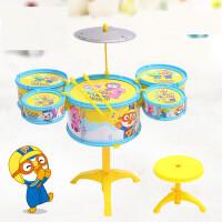 儿童玩具 趣味架子鼓乐器玩具音乐启蒙女孩宝宝儿童早教益智礼盒装生日礼物 默认大号套装