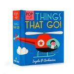 启蒙立体小书 交通工具Pop up Things That Go 英文原版绘本 儿童交通工具认知识物 低幼英语启蒙学习