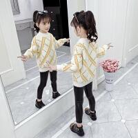 新款儿童秋冬装大童装女孩打底衫