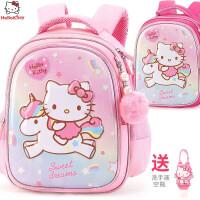 凯蒂猫书包幼儿园女童3-6岁可爱女孩学前班宝宝儿童双肩背包5大班