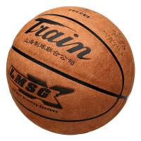 头篮球超纤牛皮质感 柔软耐磨 7号比赛蓝球水泥地室外室内 7121
