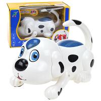 儿童电动玩具音乐小狗狗会走路会翻身机器电子智能宠物仿真狗 官方标配
