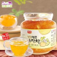 【满99减50元】韩国进口韩福10.2柠檬蜂蜜柚子茶1000g