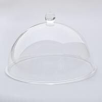 有机玻璃防尘罩家用食品饭菜罩半球罩亚克力透明灯罩