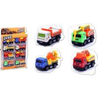 儿童玩具回力工程车货车吊车搅拌挖机玩具过家家男孩女孩玩具 018-399-333