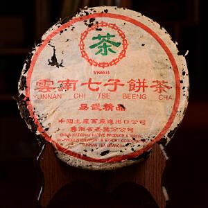【单片】2003年 中茶易武精品陈年普洱茶生茶357克/片