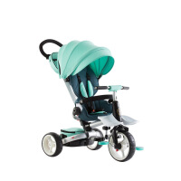 【支持礼品卡】 新品儿童三轮车 高景观可折叠宝宝三轮车自行车手推车T600w1f