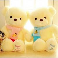 抱抱熊大号布娃娃玩偶生日七夕情人节礼物熊公仔毛绒玩具围巾
