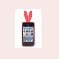 iphone 4兔女郎硅胶手机套