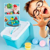 超轻粘土24色橡皮水晶彩泥套装男女孩36色纸黏土手工diy儿童玩具 x6n
