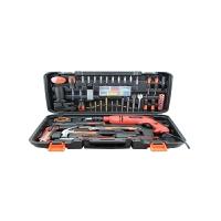 哈博-家用五金工具套装 电工维修组合手动工具箱组套多功能冲击电钻 110件套装