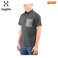 Haglofs火柴棍男款户外男装休闲衣轻便男士短袖t恤603835 亚版