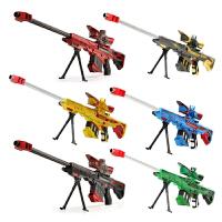 新巴雷特电动水弹枪狙击枪小孩玩具枪水晶弹枪男孩可发射水晶弹