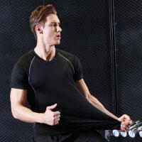 紧身衣男运动透气速干弹力打底跑步篮球训练服健身衣健身服男短袖