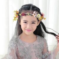 韩版儿童花环头花儿童头饰花童花环饰品套装儿童礼服配饰演出发饰 支持礼品卡支付