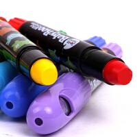 美乐 儿童蜡笔无毒可水洗 宝宝蜡笔涂色旋转油画棒儿童画笔涂鸦笔