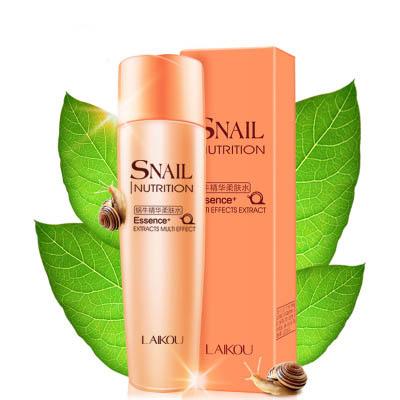 莱蔻蜗牛柔肤水化妆品 保湿补水滋润护肤160ml 补水保湿 持久滋润