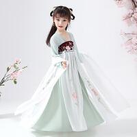 女童汉服连衣裙儿童仙古装襦裙小女孩中国风唐装宝宝复古童装秋
