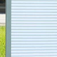 静电玻璃贴纸透光不透明贴膜办公室�鹪∈椅郎�间玻璃窗户窗贴纸 静电六瓣花 90cm宽/2米