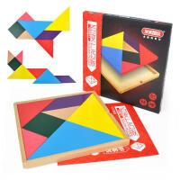 米米智玩 大号百变七巧板 儿童益智创意拼版小学几何智力拼图玩具