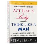 像女人一样行动像男人一样思考 英文原版 Act Like a Lady, Think Like a Man 英文版 正