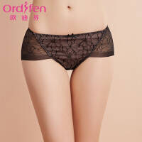 【2件3折到手价:41】Ordifen/欧迪芬蕾丝内裤 提臀性感单条女士内裤XP7221