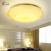 祺家 LED吸顶灯客厅灯卧室灯现代简约钻石灯饰灯具WX15