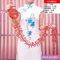 新年装饰用品过年挂件场景布置挂饰春节年货电子鞭炮鞭爆仿真爆竹