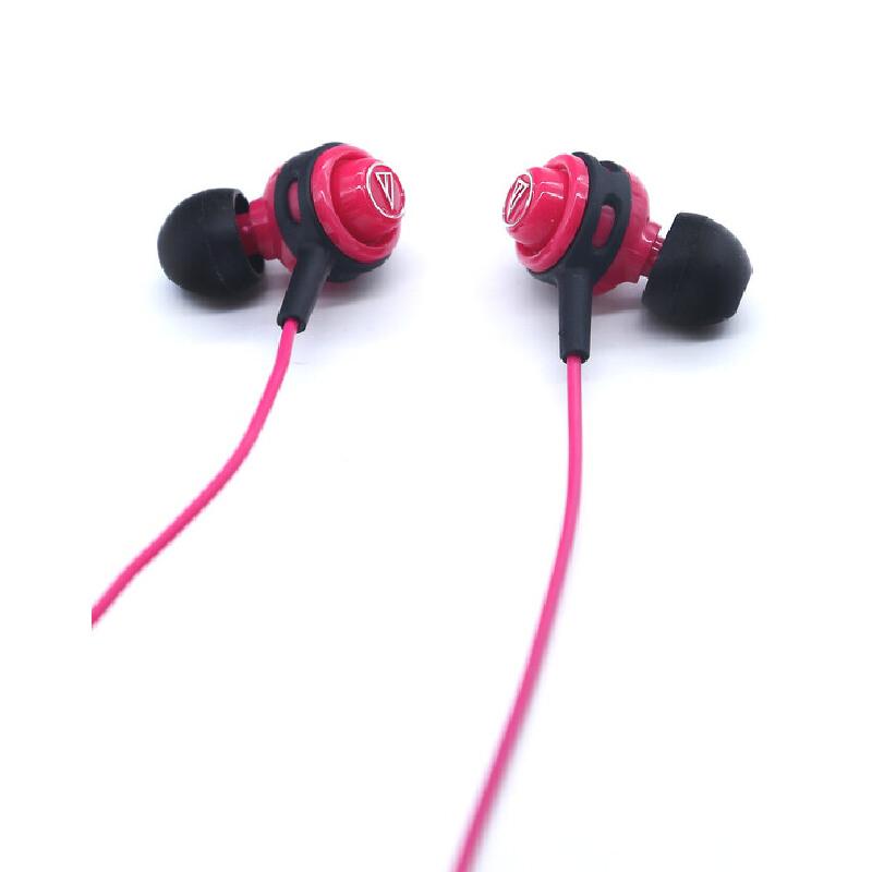 Audio Technica/铁三角 ATH-COR150 耳机入耳式运动耳机 音乐运动两不误附原装耳挂