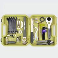 自行�工具套�b�M合山地�中�S工具�w�牙�P��l拆卸�S修工具