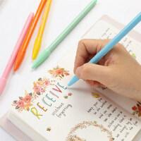 慕娜美monami水彩笔水性笔纤维笔水笔勾线笔手帐笔彩色中性笔套装