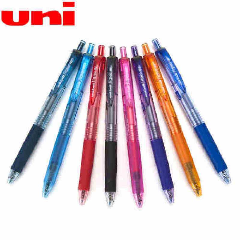正品 日本uni/三菱UMN-138水笔 三菱138彩色水笔 三菱0.38mm,财务专用 书写流畅