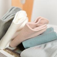 男女士袜子船袜隐形袜纯棉吸汗透气春夏季运动袜短筒袜薄款 均码